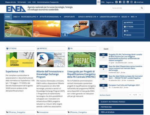 Detrazioni ENEA, ecco il sito web 2021 per invio dati Ecobonus e Bonus Casa